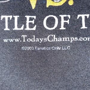 Shirts - 2003 Oakland Vs Tampa Bay No Mercy Tee